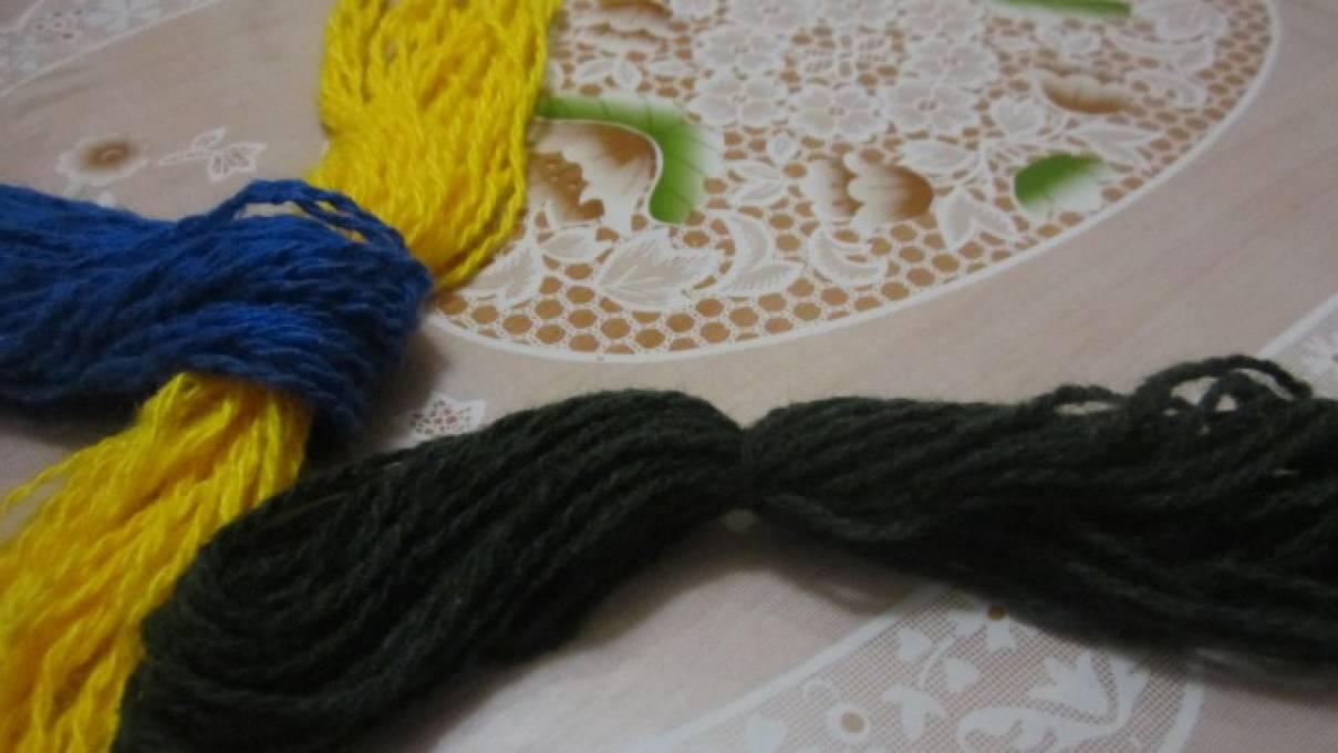 Поделки из ниток для вязания своими руками
