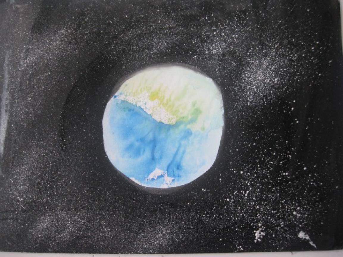 Мастер-класс «Голубая планета Земля»