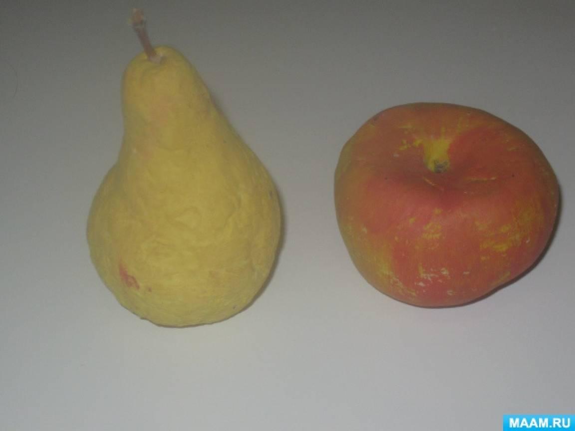 Мастер-класс: лепим яблоко из солёного теста