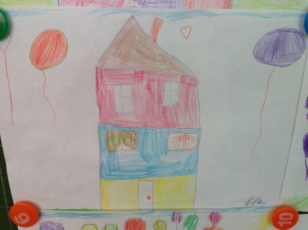 Омск в детских рисунках