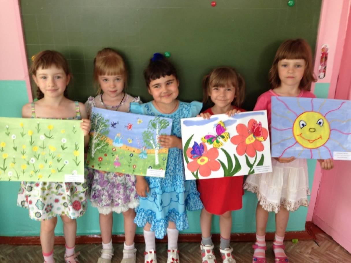 Работы на выставку «Лето-яркая пора!» Детский мастер-класс. Часть II