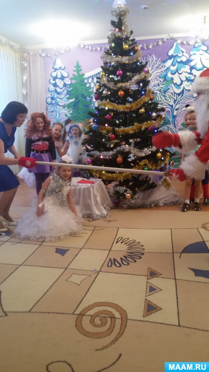 Сценарий нового года для детей дед мороз