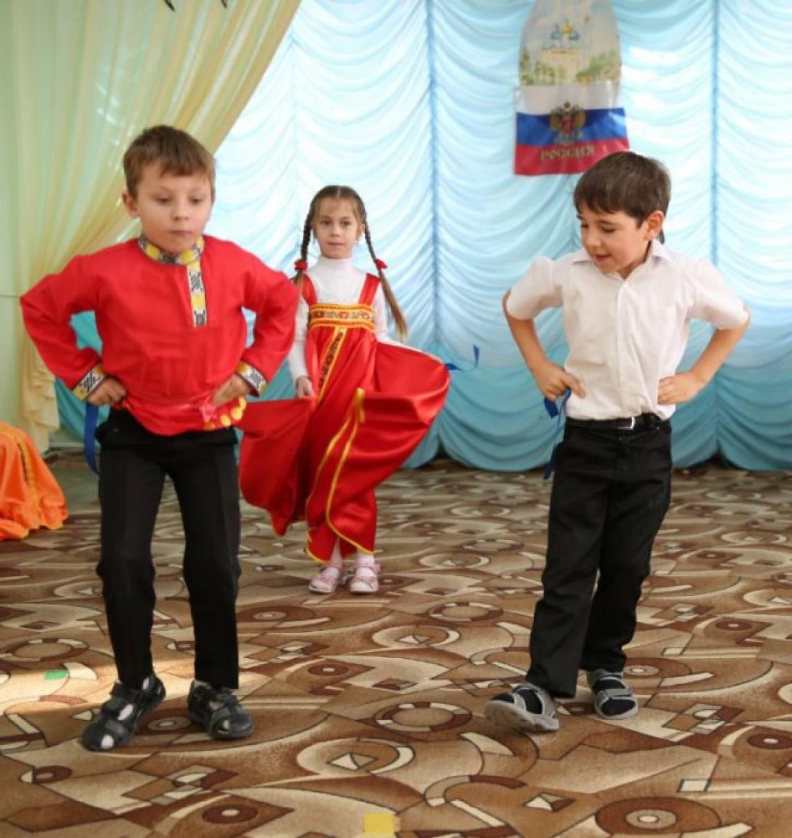 дидактический материал про танцы