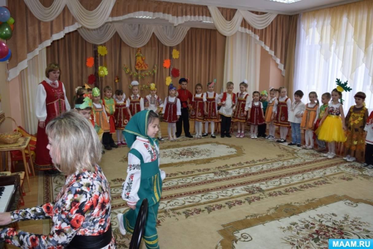 Проект «Музыкально-театрализованное представление по мотивам русской народной сказки «Репка»