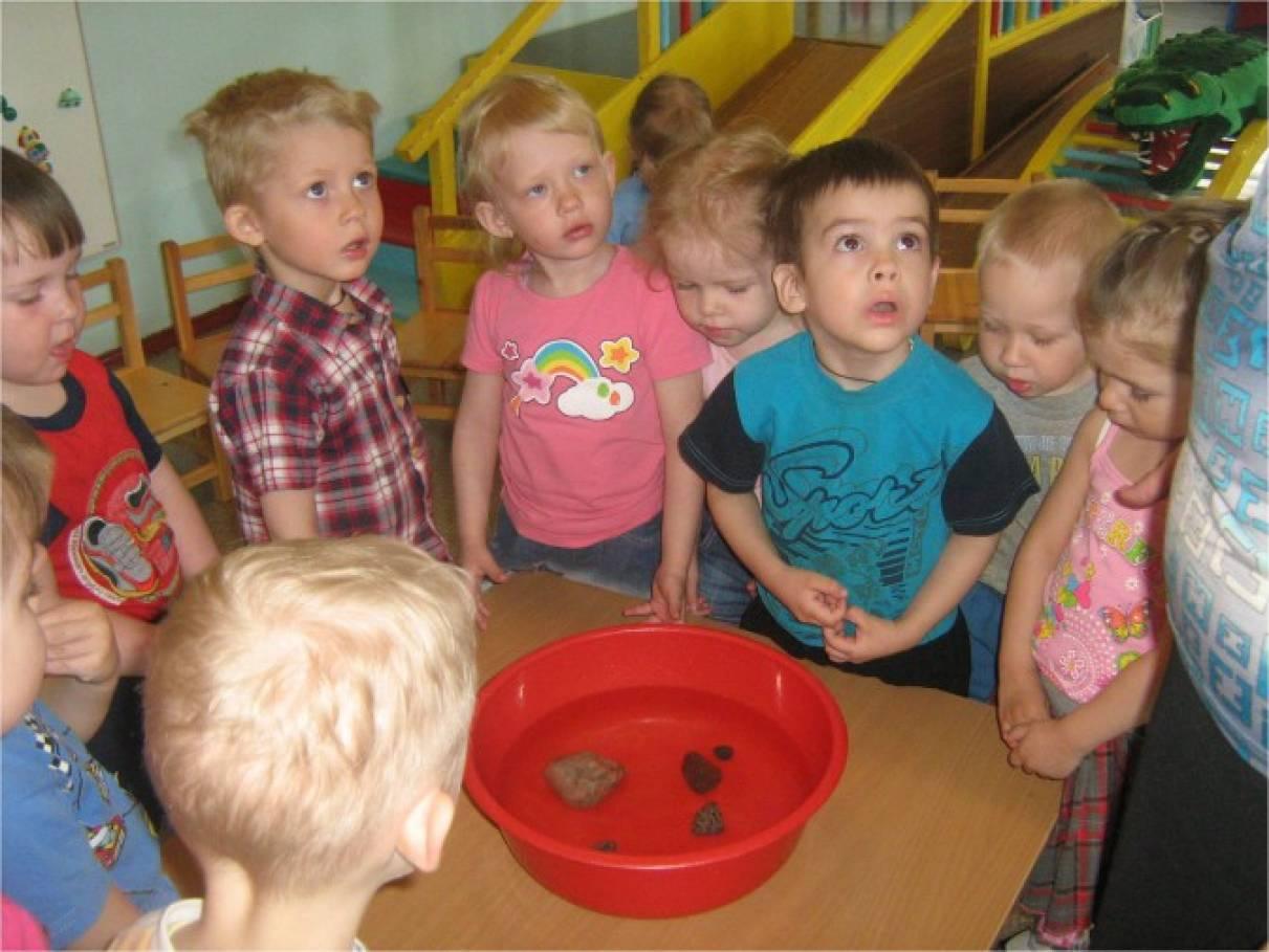 знакомство с окружающей средой детей раннего возраста