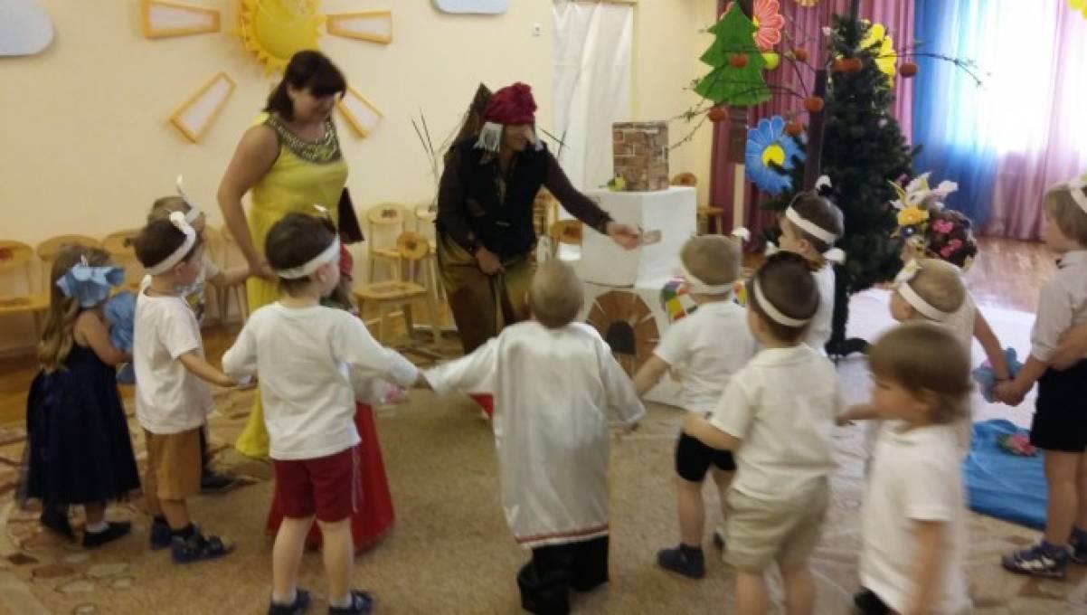 игра в кругу знакомство для детей