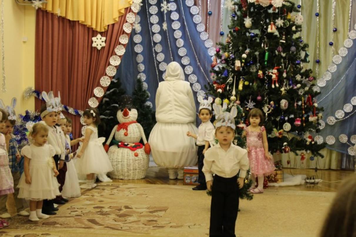 Новогодний утренник для детей второй младшей группы «Путешествие в новогодний лес»
