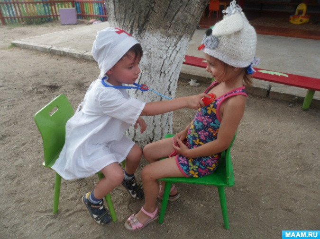 Фотоотчет «Первая медицинская помощь»