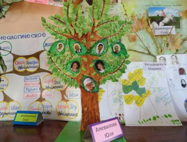 Дерево семьи своими руками нарисовать 99
