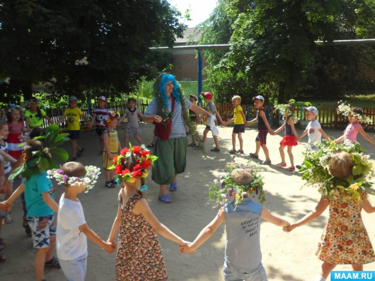 Сценарий летнего концерта для детей