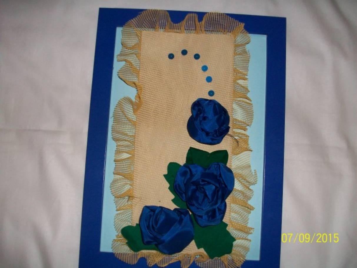 Мастер-класс «Цветы из ткани»