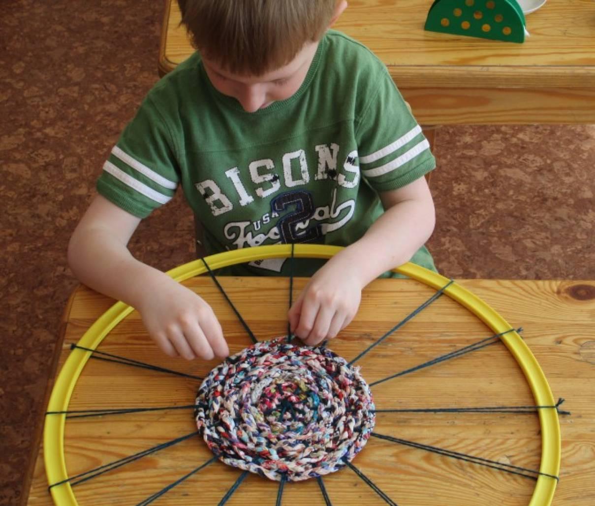 Детский коврик своими руками мастер класс фото7
