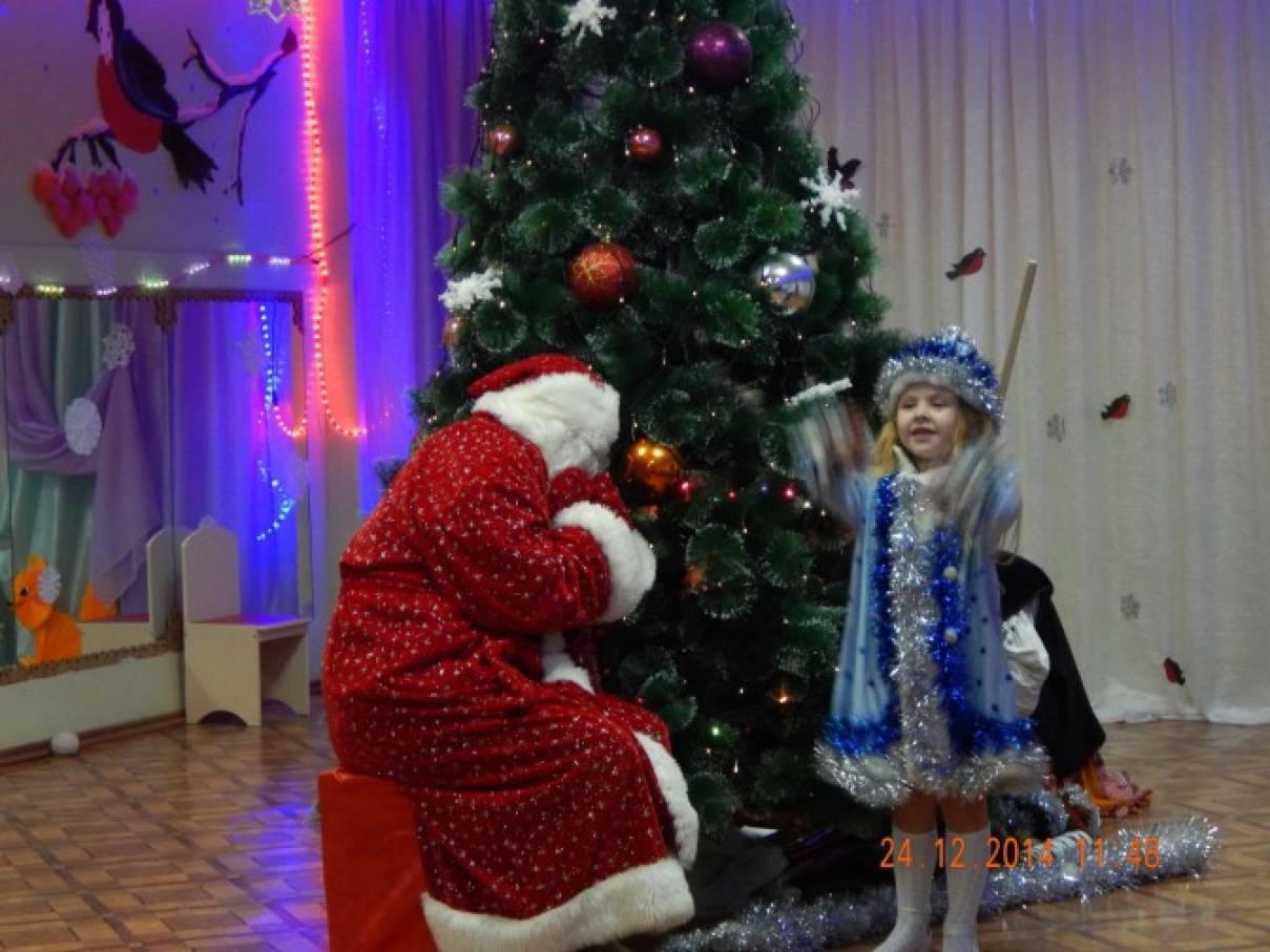 Сценарий новогоднего праздника в детском саду