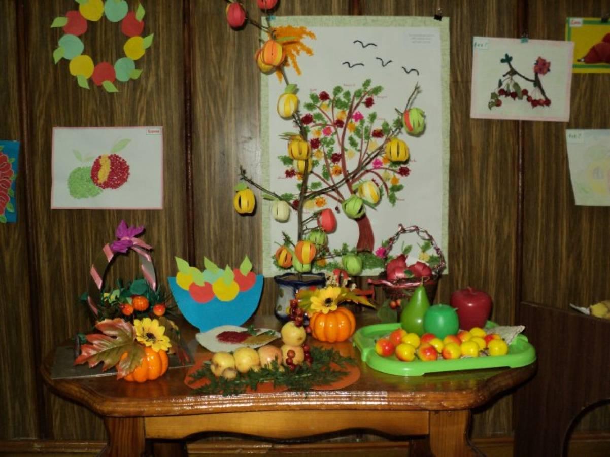 Поделки для детей к яблочному спасу 71