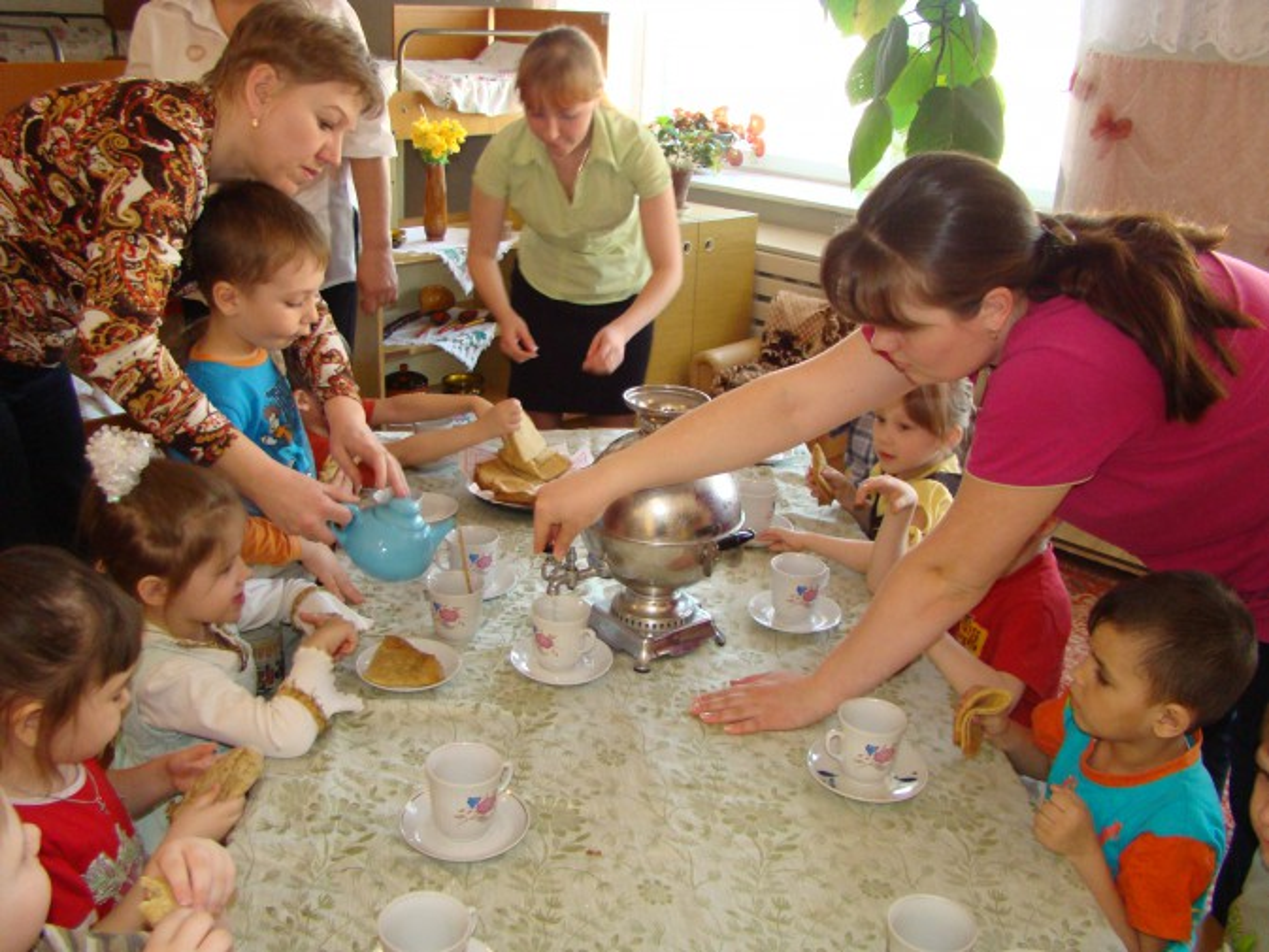 знакомство детей с украинским народным творчеством