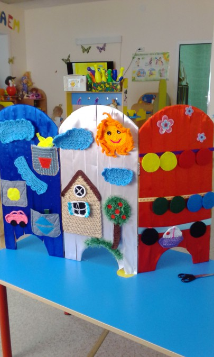 Детская ширма для детского сада своими руками размеры ширмы