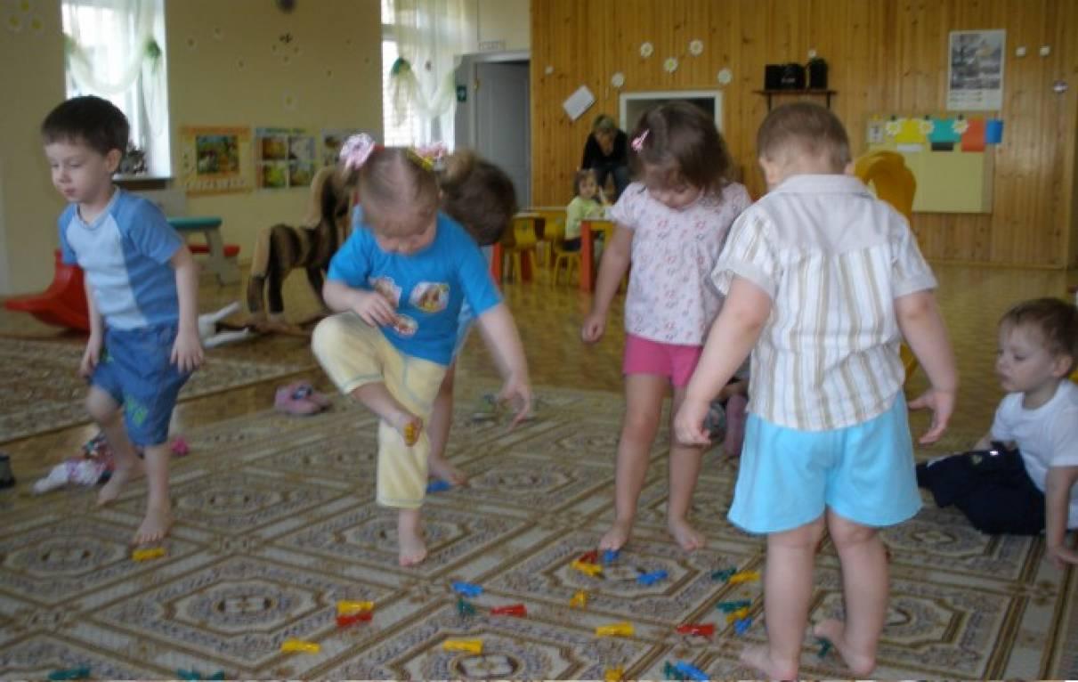 Игры с прищепками для воспитателей
