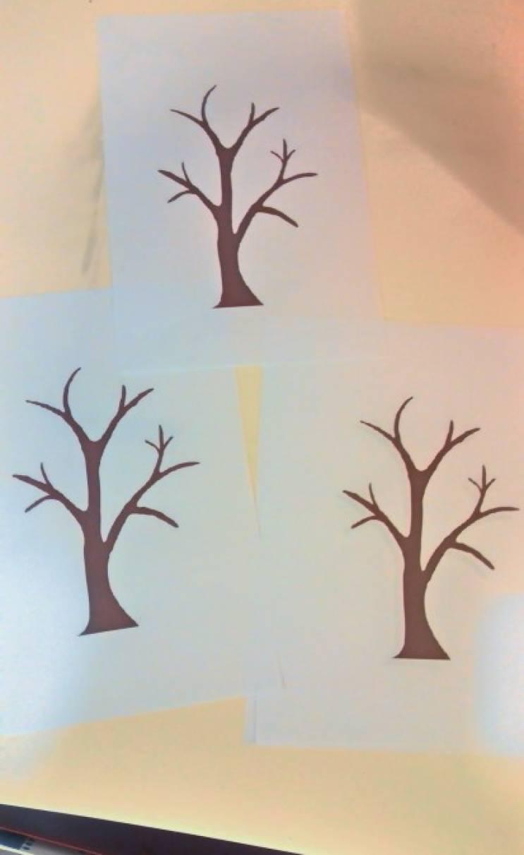Аппликация «Осеннее дерево». Обсуждение на LiveInternet ...