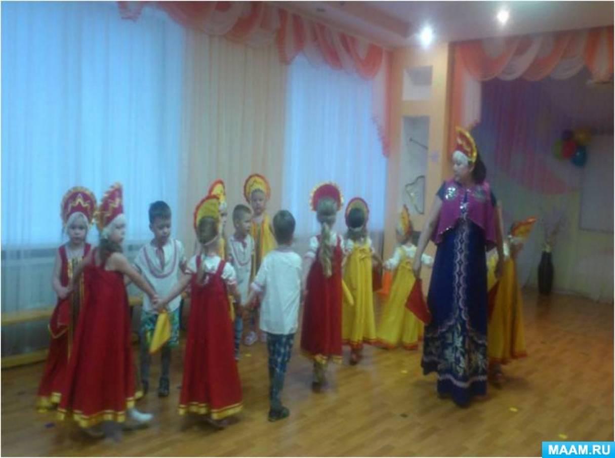 Русские народные хороводные игры для детей