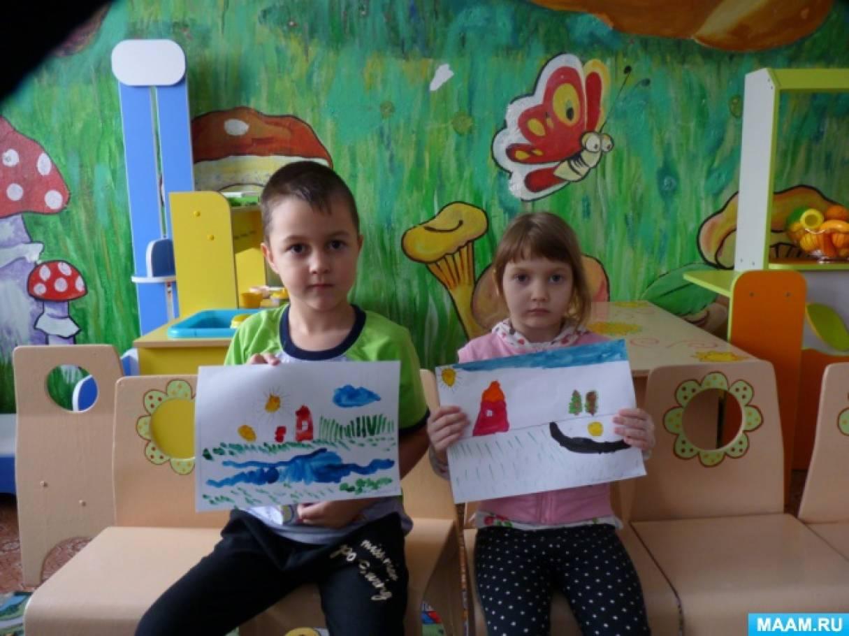 знакомство детей с художником и билибиным