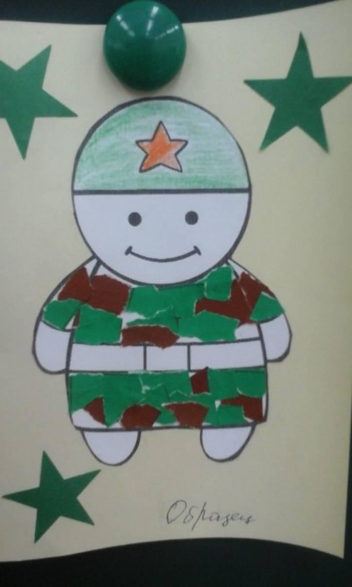 Открытки солдаты в армейской рубашке аппликация, поздравляю окончанием класса