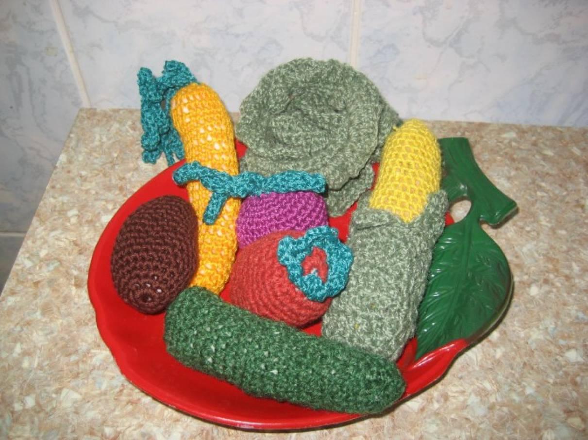 Мои вязаные игрушки. Вязание крючком «Очумелые ручки-1»