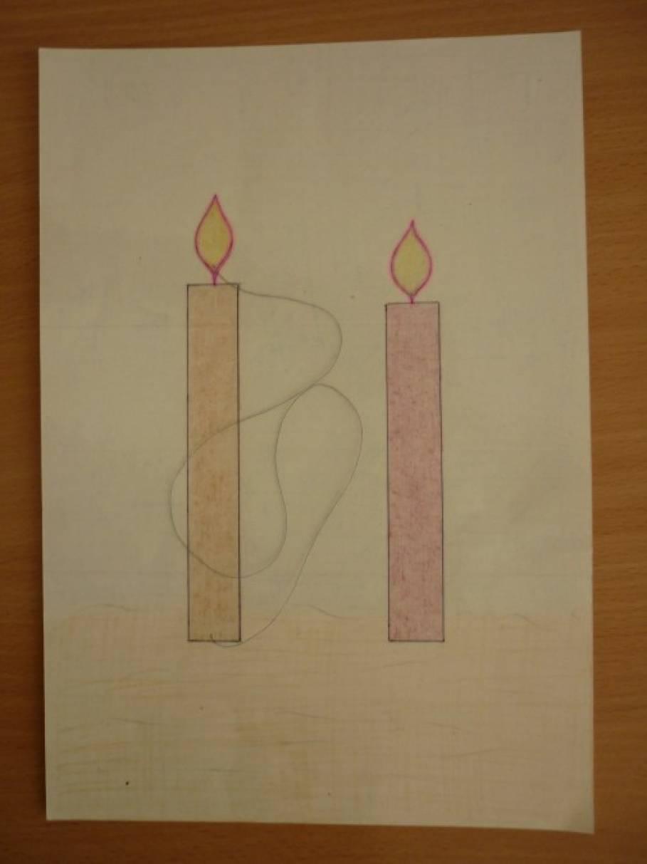 Наглядное пособие по развитию речевого дыхания «Свеча и Одуванчик»