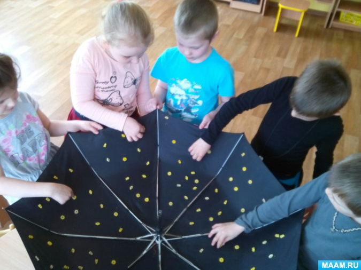 знакомство с солнечной системой в подготовительной группе