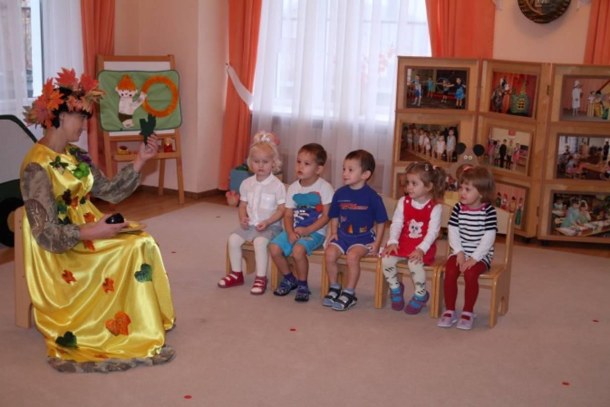 Конспект непосредственно-образовательной деятельности по социально-коммуникативному развитию «В гости к Осени»