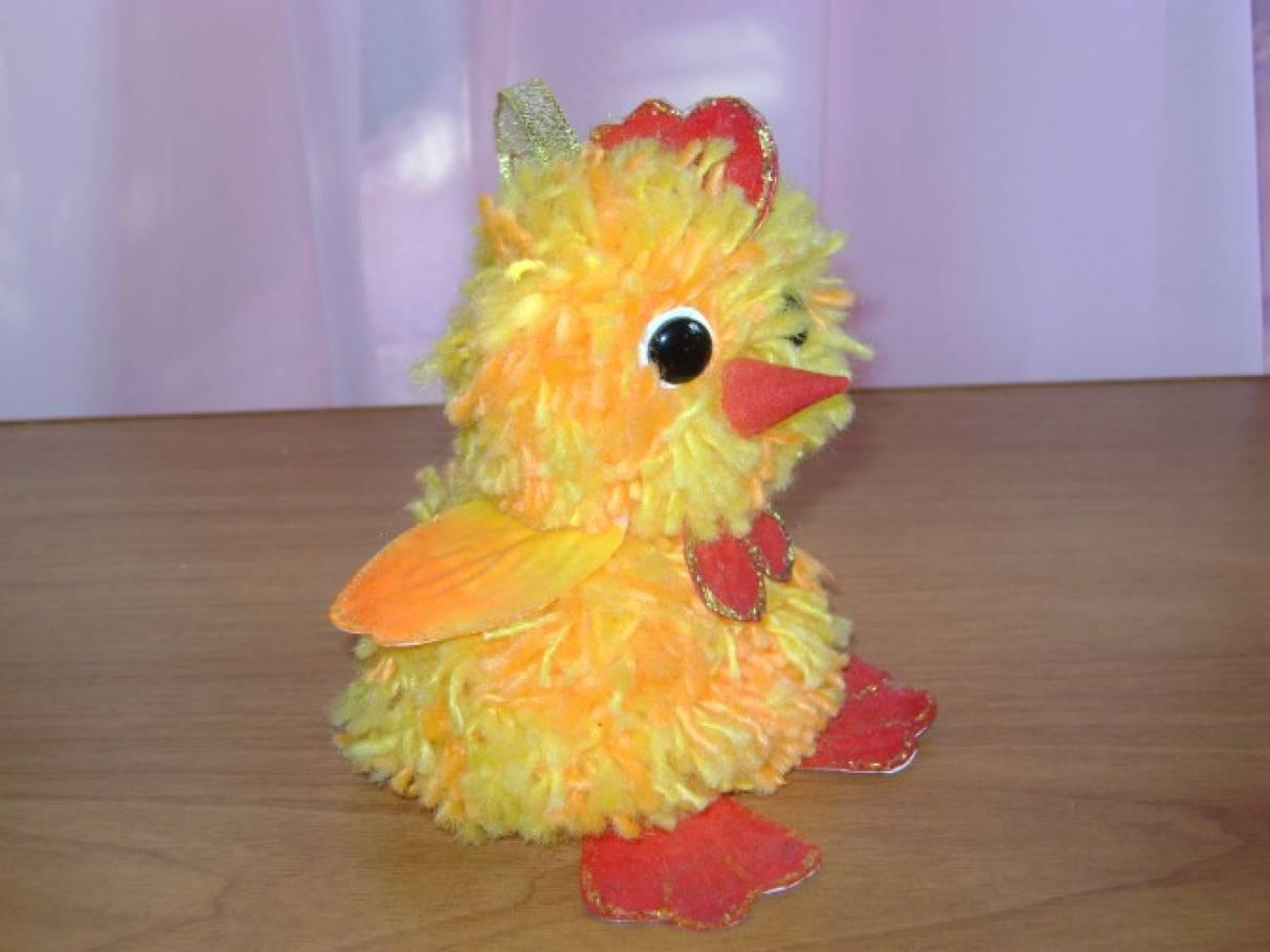 Как сделать цыпленка из живых цветов своими руками 98