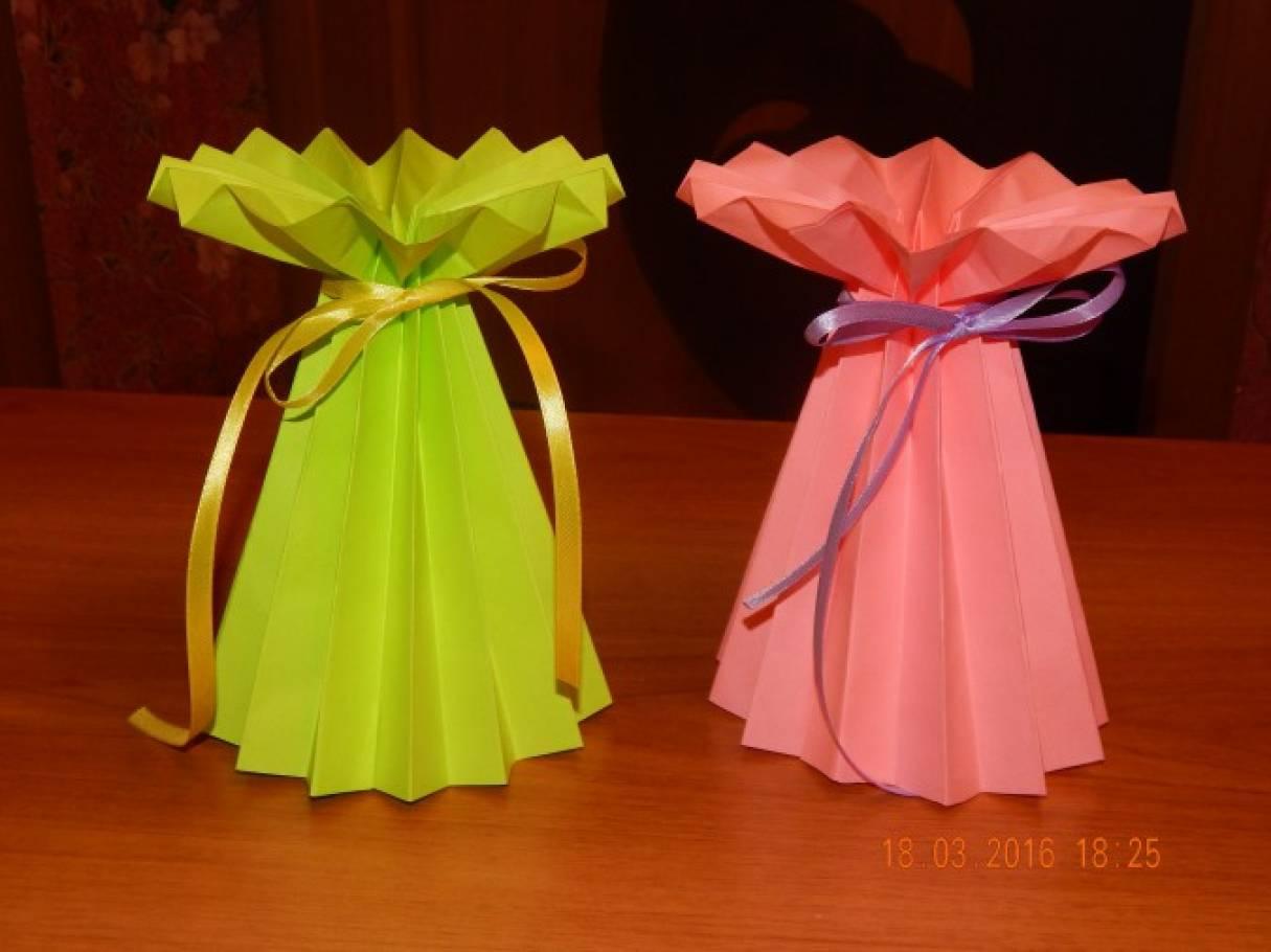 Мастер класс по изготовлению вазы из бумаги - Shoprose.ru
