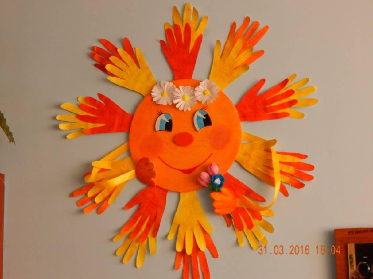 Картинка солнышко улыбается для печати