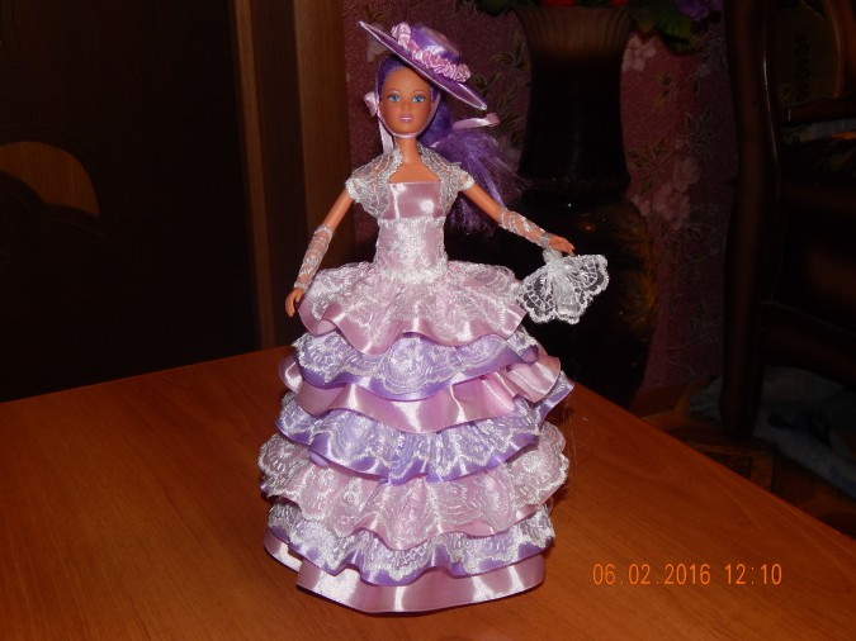 Моя первая кукла-шкатулка. Мастер-класс