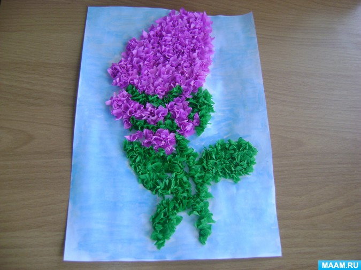 Открытка торцевание цветы