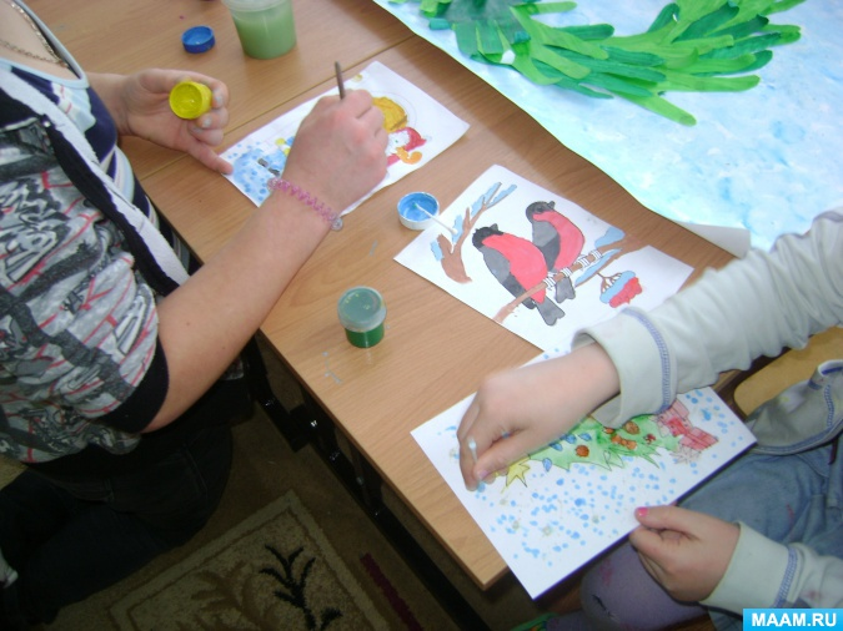 Задачи выставки рисунков