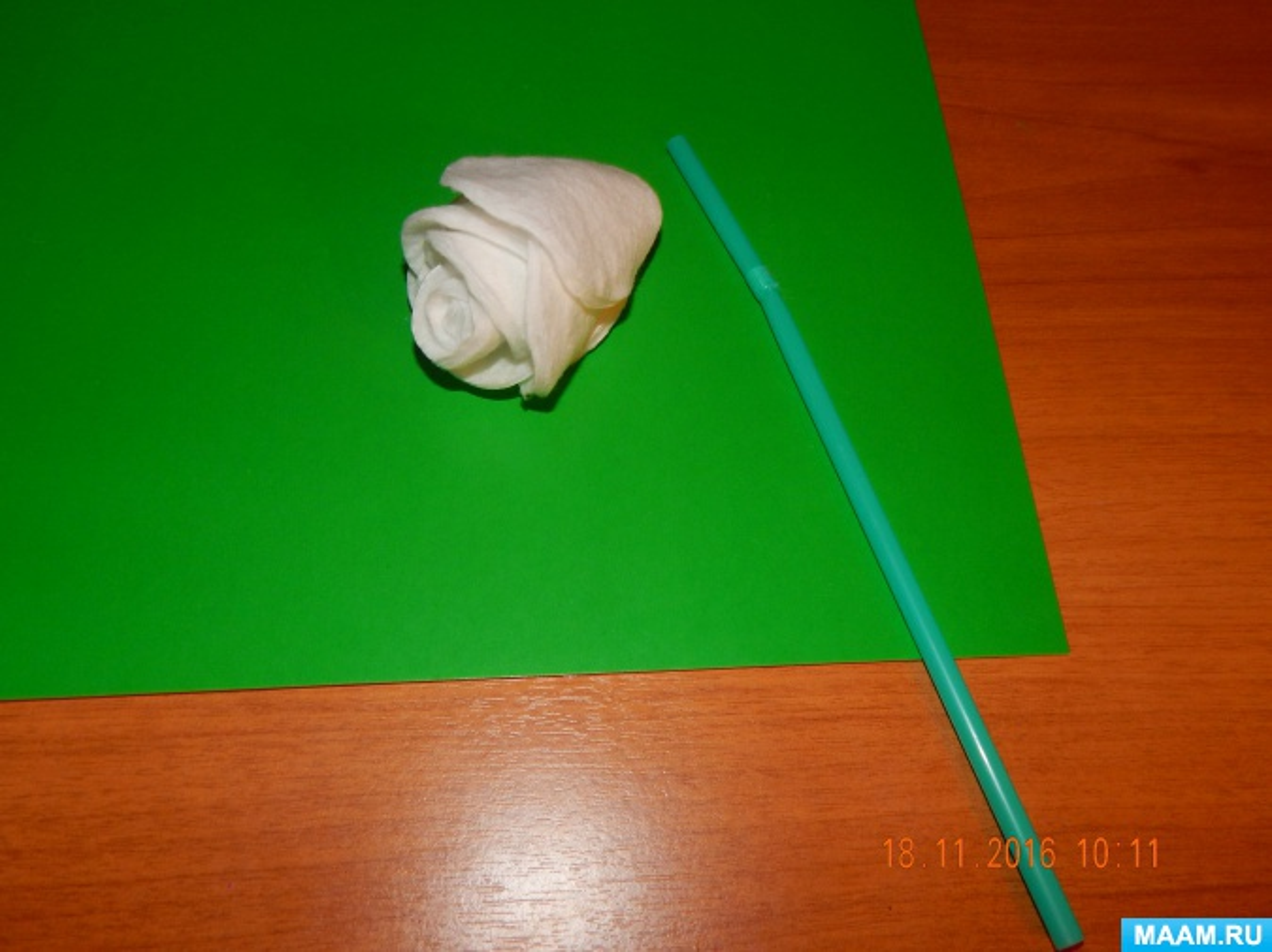 detsad-358845-1488461267 Поделки из ватных дисков своими руками. Цветы из ватных дисков: подснежники, розы, ромашки, каллы. Топиарий из ватных дисков. Детские поделки из ватных дисков в детский сад, школу: фото