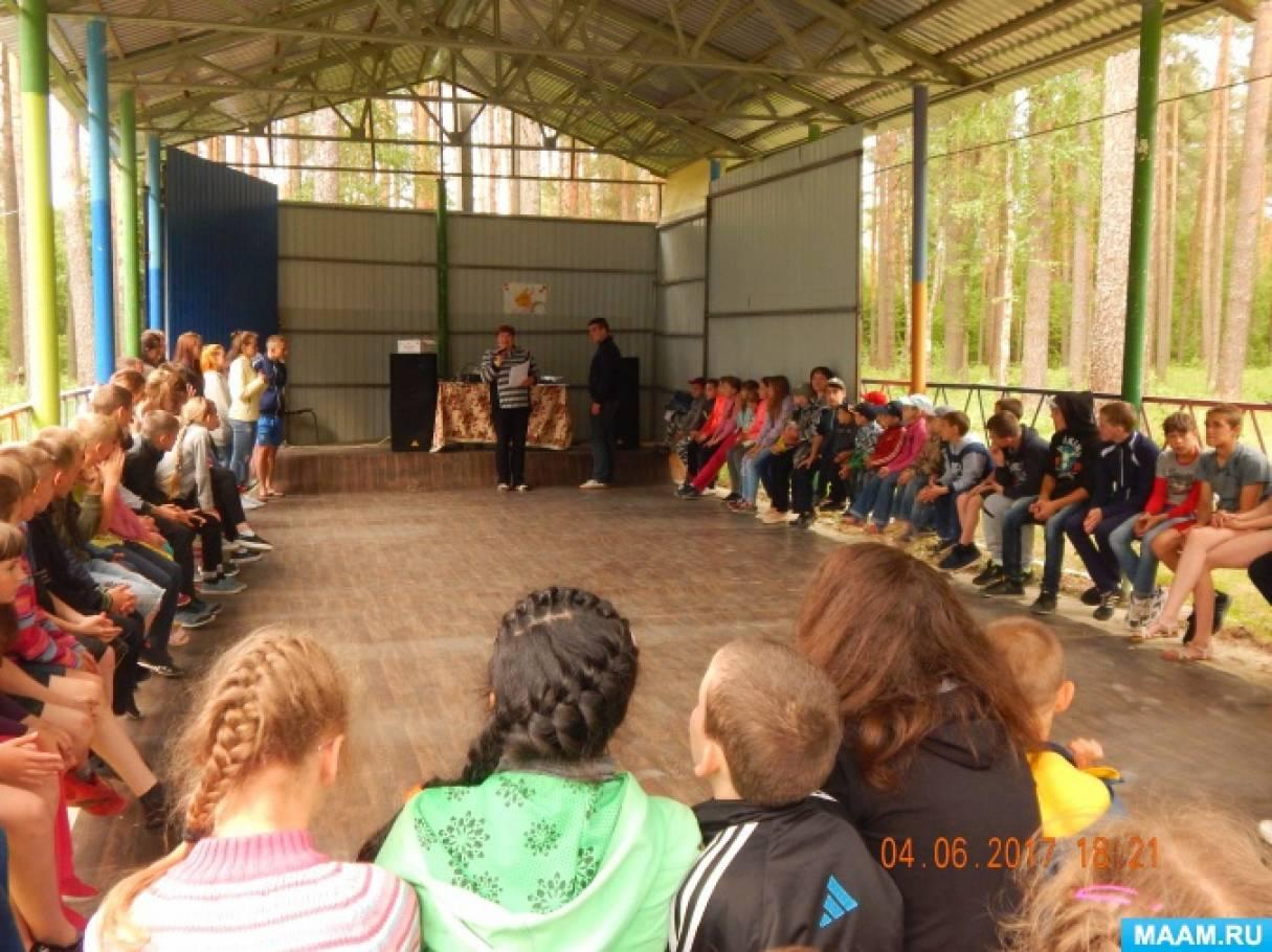 игры на знакомство в лагере с двумя отрядами