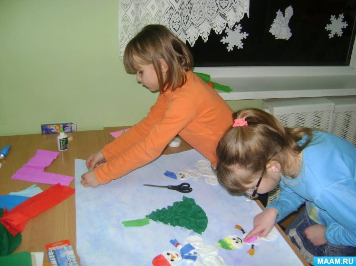 Фотоотчет «Детское коллективное творчество за период 2017 года». Часть 5