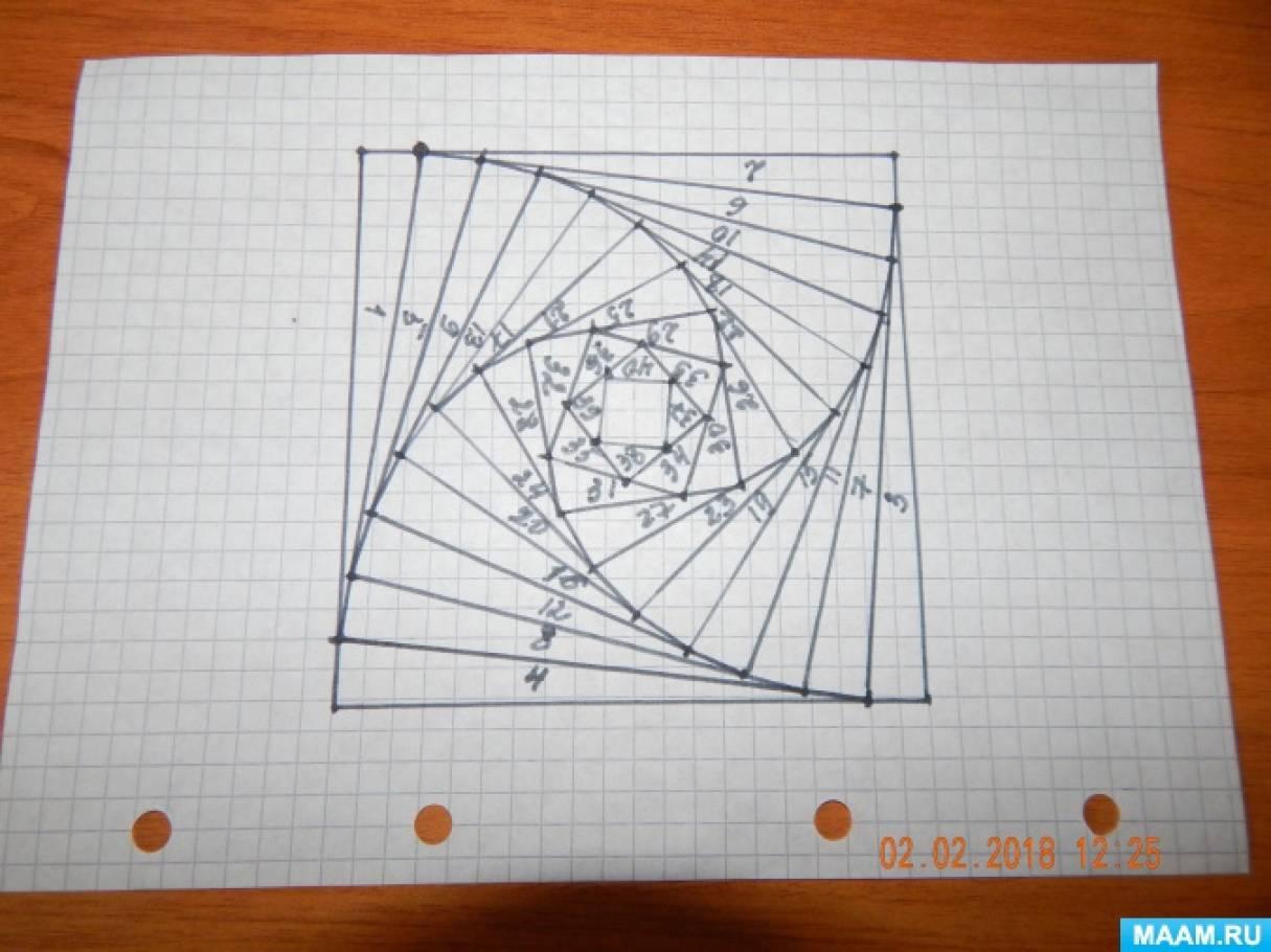 Мое знакомство с техникой «Айрис фолдинг». Мастер-класс «Как самостоятельно нарисовать схему для техники «Айрис фолдинг»