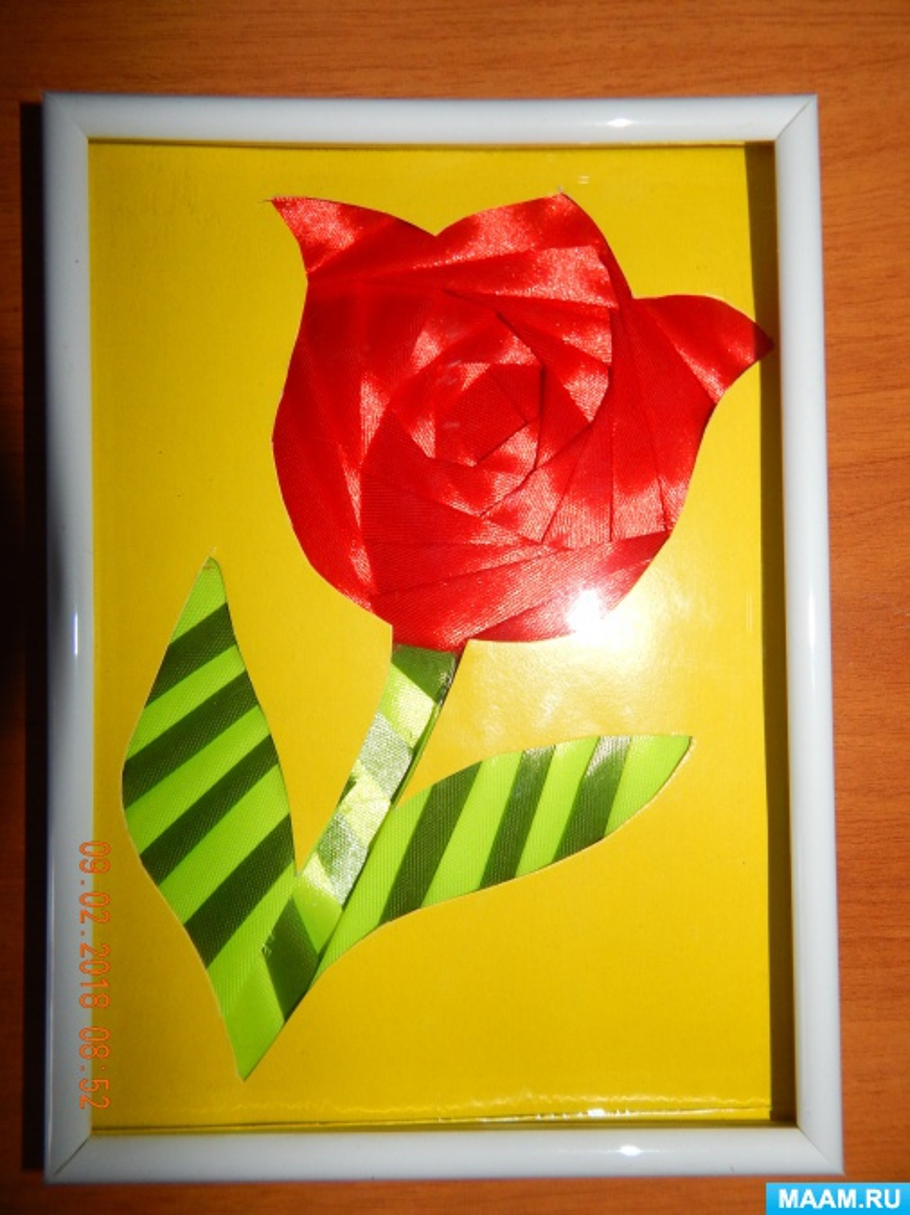 Мастер-класс «Цветочек аленький в технике «айрис фолдинг»