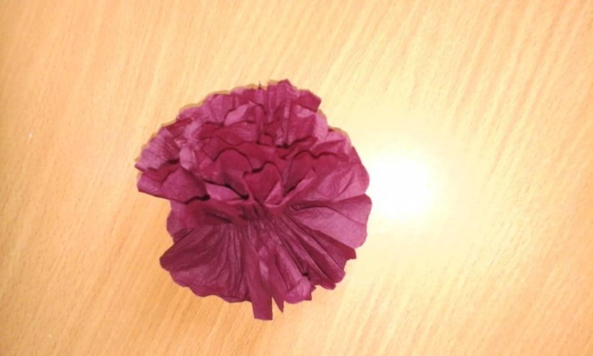 Топиарий из бумажных салфеток
