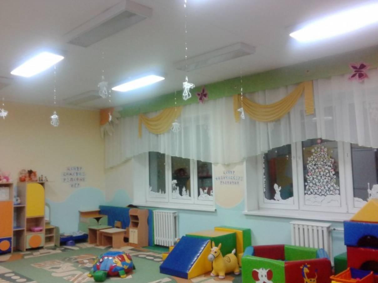 В преддверии нового года в детских садах