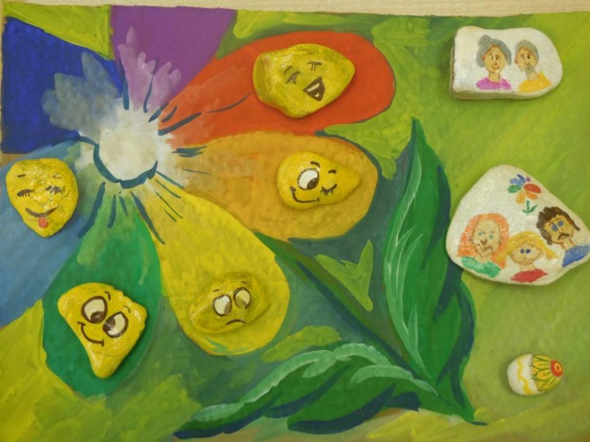 знакомство с камнями в детском саду
