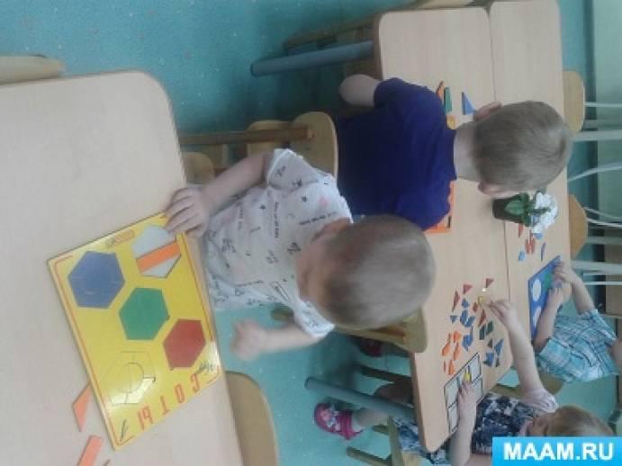 Проект «Развитие творческих способностей детей младшей группы с помощью развивающих игр»