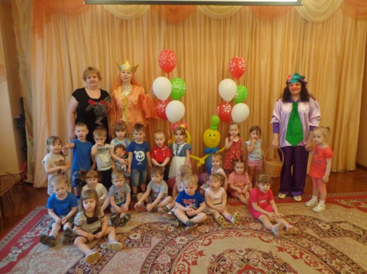 Фотоотчет «Как мы отмечали день рождения детского сада»