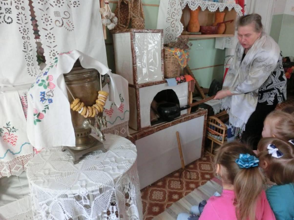 дети знакомятся с историей сибири