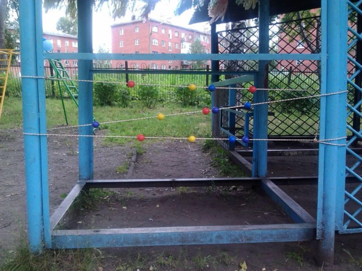 Оборудование участка в детском саду
