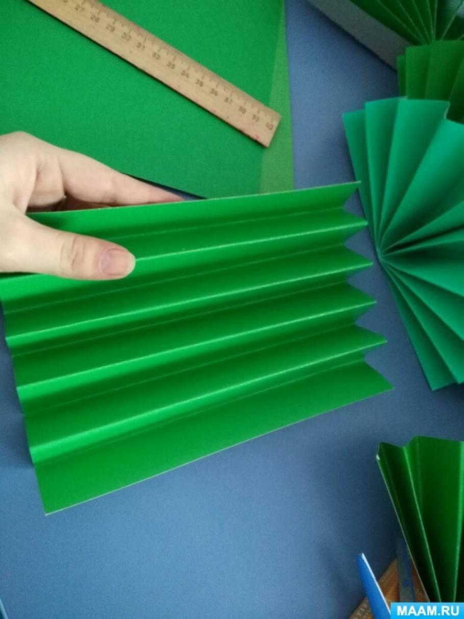 Поделки из бумаги как гармошка 111