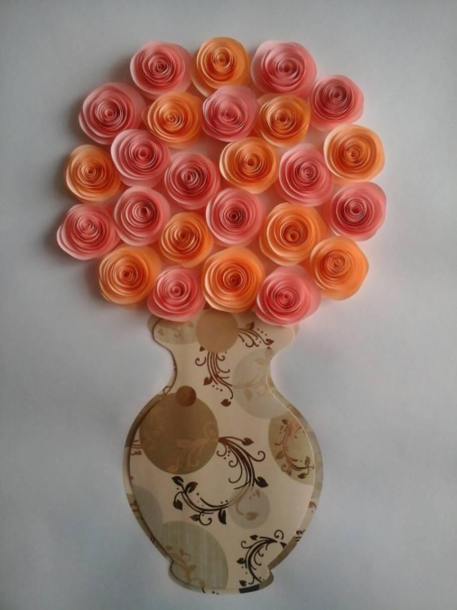 Мастер класс объёмные цветы