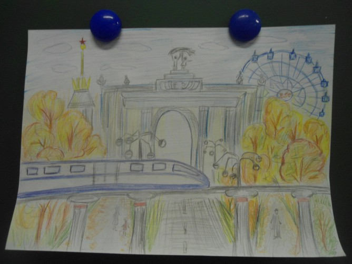 моя москва картинки рисунки